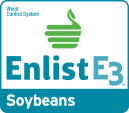 Enlist E3 soybeans logo