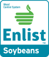 Enlist soybeans logo